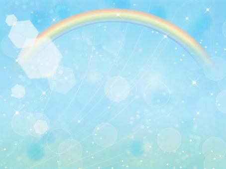 Texture Glittering Rainbow
