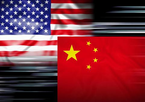 US-China competition image