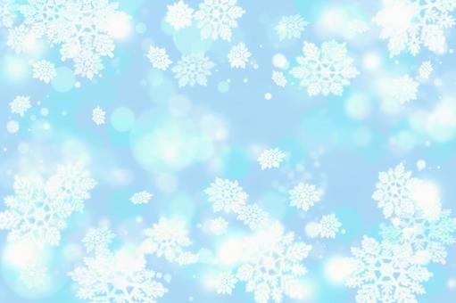 雪水晶纹理1
