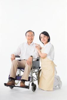 Men and nurses on a wheelchair 6