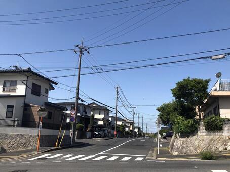 Idyllic residential area