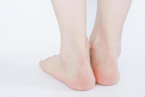 Women's feet heels