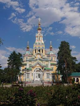 카자흐스탄 알마티에있는 젠코후 정교회
