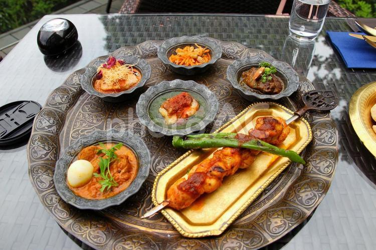 中東料理の写真