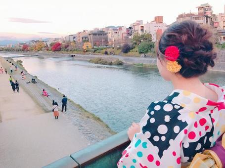 Walk in Kyoto Kimono