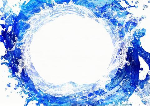 Background Texture Splash Water Splash Splash Water Water Wheel Water Flow Frame