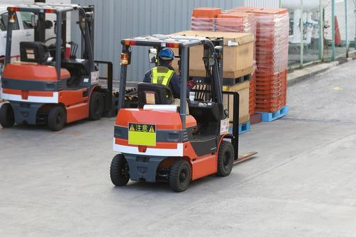 Working person No. 47 forklift