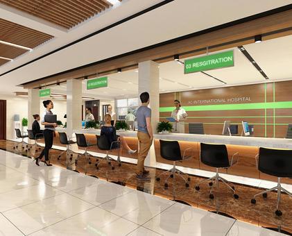 Hospital lobby 1