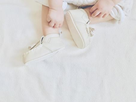 First shoes and baby