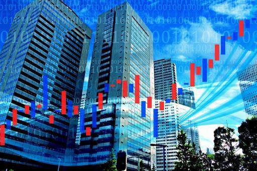Stock price rising business 6