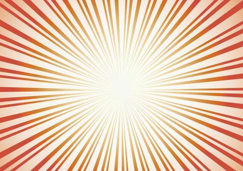 Radiation perspiration effect line concentration line frame frame decoration frame picture