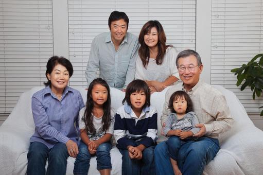Japanese 3rd generation family