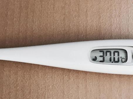 度 微熱 37 の