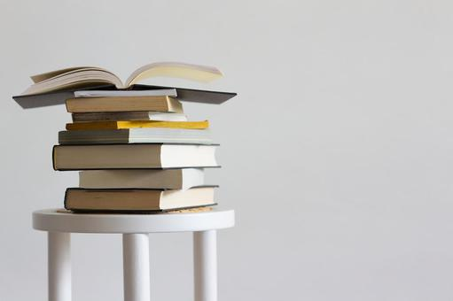 Stacked books 2
