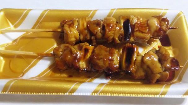 안주 39 (네기마 · 닭 꼬치)
