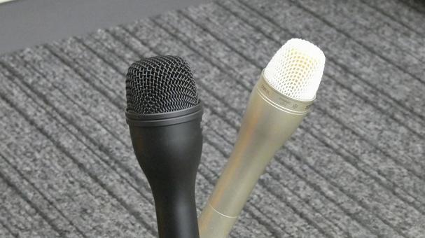 Professional handheld microphone