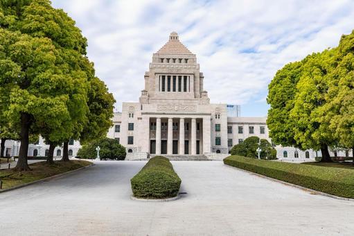 국회 의사당 주변 산책