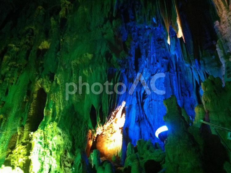 あぶくま洞・入水鍾乳洞の写真