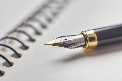 Fountain pen's pen tip 2