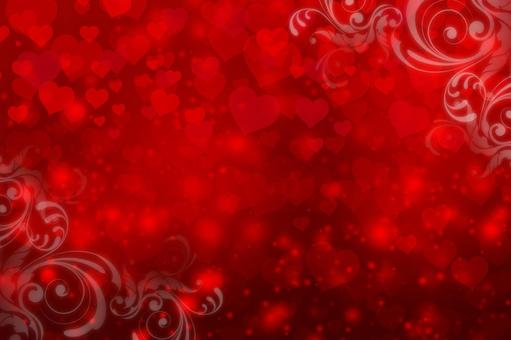 Full of hearts_Valentine background material