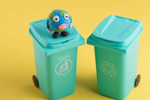 Earth and garbage 5