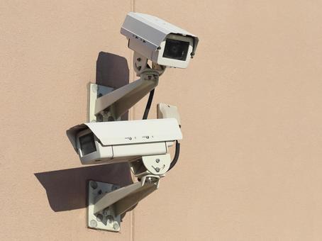 방범 카메라 감시 카메라 안전 대책 이미지 자료