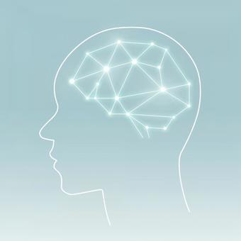 Simple brain AI style material _PSD4