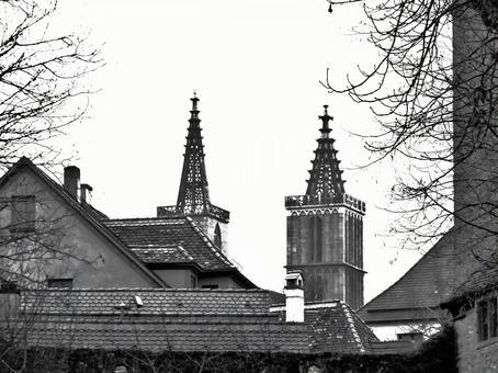 Scenery of Rothenburg