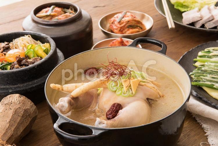 いろいろな韓国料理4の写真