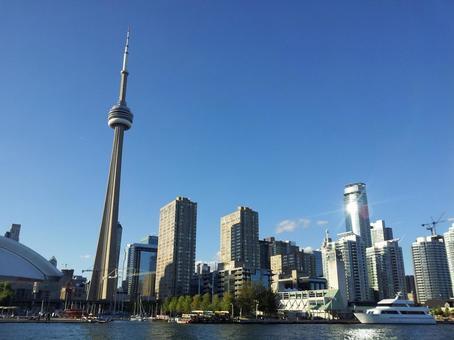 토론토의 빌딩 군