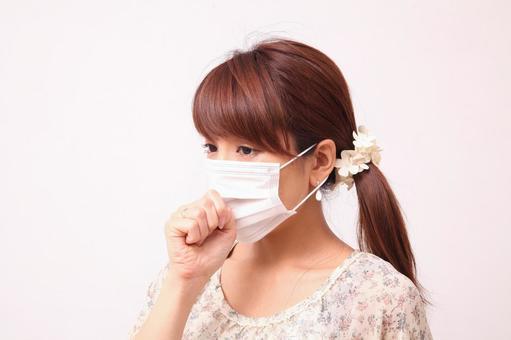 A woman wearing a mask 3