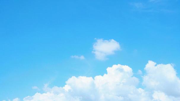 Sky background Cumulonimbus 16: 9