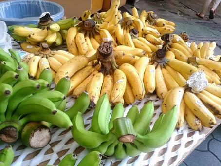Okinawa island banana