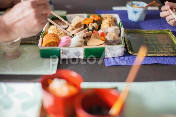 おせち料理3の写真
