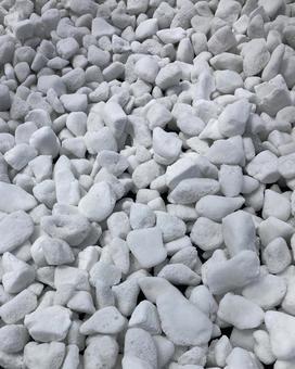 White stone gravel stone texture