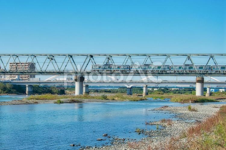 小田急相模川橋梁の写真