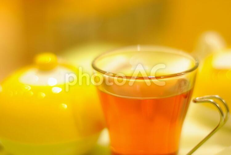 紅茶セットの写真