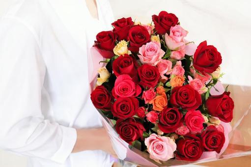 玫瑰花束禮物