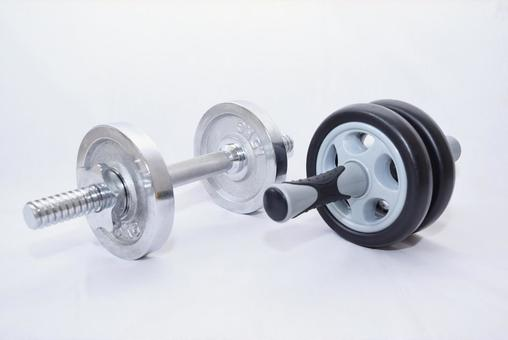 Dumbbell and Abra Roller