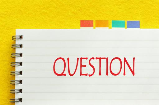 Question QUESTION question study notebook image material