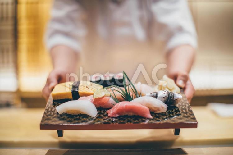 美味しそうなお寿司5の写真