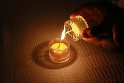 婚禮派對蠟燭接力手