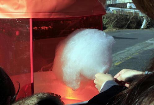 Cotton candy sales