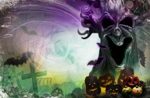 Halloween_background material