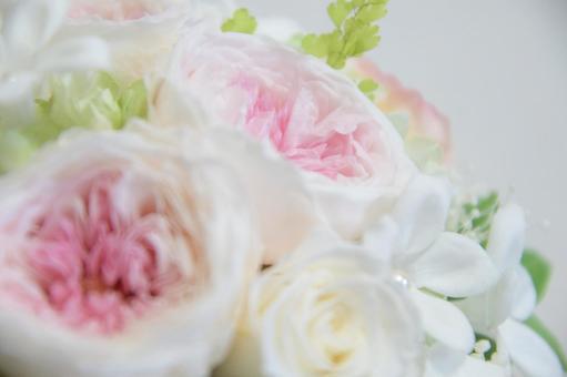 Wedding bouquet up