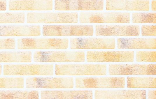 Brick wall background material