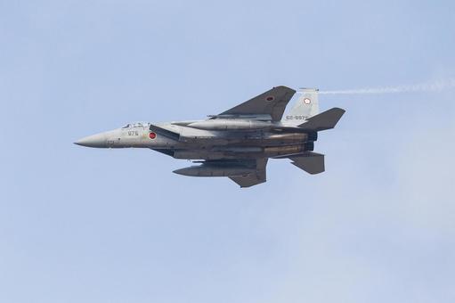 Mobile Air Self-Defense Force F-15 Eagle Fighter (Chikujo-gun, Fukuoka)
