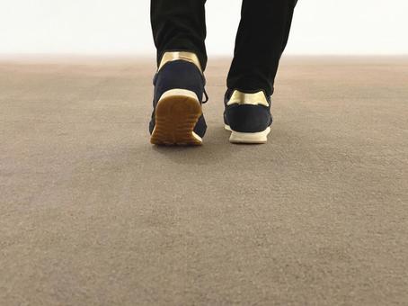 Steps to start walking