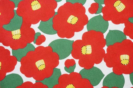 Camellia pattern cloth 2