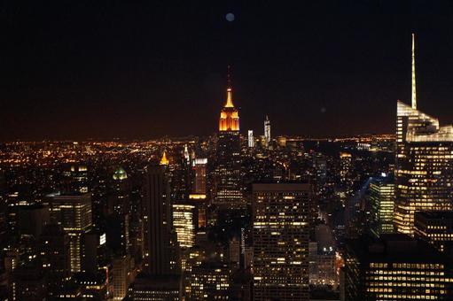 Night view of New York / Manhattan